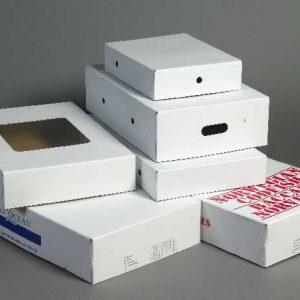 Caisse carton compact