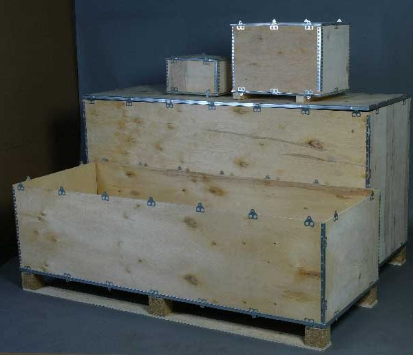 Caisse bois export